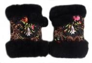 рукавицы из овчины +меховые +подарочные +зимние