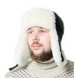 шапка ушанка +мужская +зимняя +из овчины