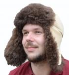 шапка ушанка овчина
