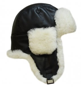 шапка авиатор